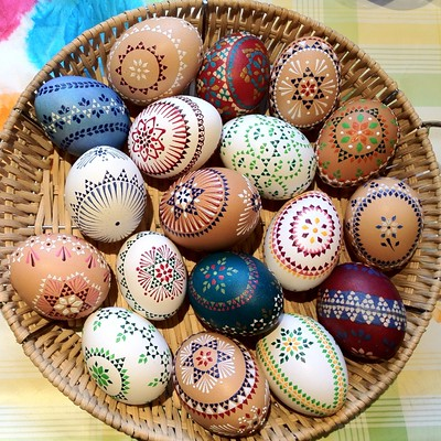 Easter Eggs by gedankenabfall on Flickr