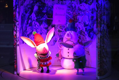 Myer Window - Olivia Helps with Christmas by Alpha on Flickr